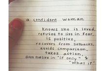 Confidence / by Izza Fayiza