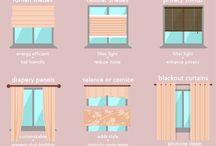 Okna - firany, zasłony, żaluzje etc.