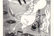 Tove Jansson / Because she's so wonderful as an artist!
