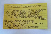 Spices and Seasonings / by Amanda Ludwig