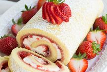 Swiss Roll Cakes / Pretty Swiss Roll Cake recipes collected here!