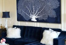 Navy Blue Decor Ideas