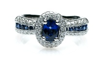Sapphire Scorchers / Some fantastic sapphire inspiration from jewellery to clothing! love love love sapphires