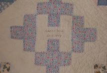 Cadet Blue and Texas Too / Two Quilts, Two Decades, Two States, One Family