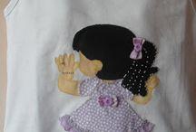 Bonecas em tecido
