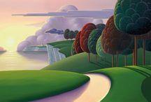 Local Artist Paul Corfield / Can you identify the local areas in Paul's Paintings, brand new releases are available now at Westover Gallery.