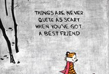 Calvin and hobbes <3