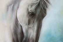 caballo al oleo