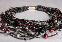 Stone necklases / Semiprecious and pearl necklases