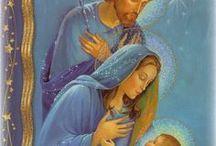 José, Jesús y María.