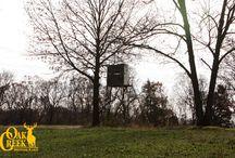 2014 Oak Creek Ranch Scenery / #trophywhitetaildeerhunting #ozarkmountainviews #deerhunting www.oakcreekwhitetailranch.com