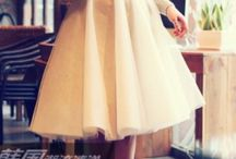 Tulle fashion
