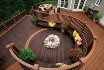 Garden & Outdoor Living Spaces / by Frances Halpin