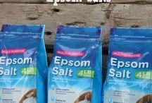 Epsom Salt / by Jayne Brantley