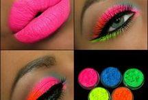 Makeup fluo