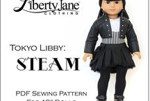 CD Collections Doll Clothes Patterns