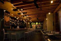 Les plus beaux restos à Montréal / Découvrez les restaurants montréalais qui nous inspirent par leurs designs et qui nous font saliver !