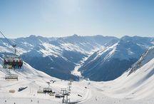 Winter Ski Sport