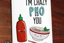 Punny Love / Funny Greeting Cards for Valentine's Day and Anniversaries