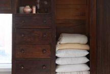 Antique linen - wardrobe.