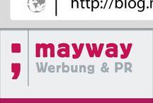 Blog / Alles zu unserem Blog auf http://blog.mayway.at/