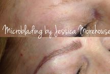 Microblading by Jess Morehouse / Helping woman feel good about their brows again. This is a semi-permanent makeup proceedure.