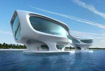 Futuristic Architecture / by Konstantinos