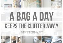 DeCluttering / Eliminating things no longer needed