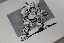 drawings / Sketch, draw, illustration, art
