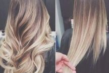 Ombre colour