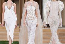 Runway Report / Catwalk around the world, luxury bridal gowns.