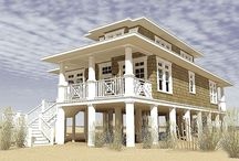 Beach house exteriors