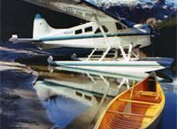 Seair's Glacier and Alpine Lake Tour / If you desire some of B.C.'s best scenery, then this tour will surely satisfy your interest. Cruise through Howe Sound and soar high above the Tantalus Mountain Range while getting a bird's eye view of ice-blue glaciers and cascading waterfalls before landing on Lake Lovely Water. Capture the tranquility and stunning views that this glacier fed lake has to offer.