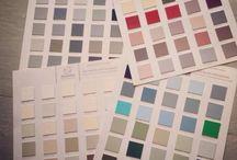 Color charts - Autentico Vintage Chalk Paint - kolory Autentico, wzorniki