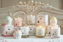 Our Creations: Candles / Beautiful candles in the delightful scents from our Patisserie de Bain range.