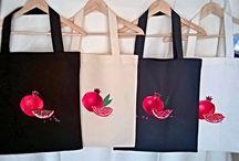 Handmade Art Bags