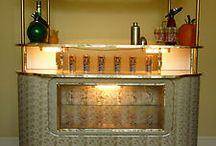 vintage cocktail bar