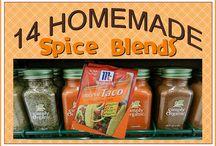 Homemade Spice mixes / by Gail Long-Miller