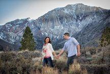 Engagement photos Convict Lake / Convict Lake California