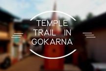 Temple Trail in Gokarna / Gokarna, A place popular for its untouched beaches, unexplored islands and rich history! A place which is of prime importance in accordance to Hindu religion but a place where all religions cease to exist. And a new religion starts to take over.  And the new religion is termed as PEACE.