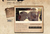 Grunge Paper / Desain tema undangan pernikahan online Datangya.com