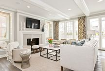 LIVING SPACES / by Kelly Hardy