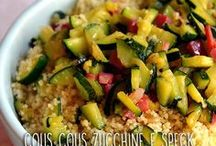 cous cous spek zucchine