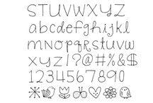 ABC Schriftarten
