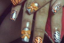 High School Spirit Nail Art / by Rose Stumbaugh