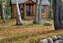 cabin me