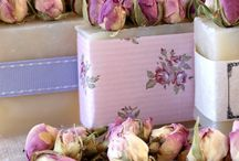 Soap Wedding favours / A selection of our bespoke wedding favours