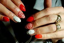 paznokcie żelowe, my nails