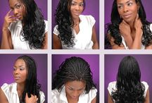 Micro Braids / How to do and style Micro Braids Hair and what are the best hair types for micro braids. Beautiful micro braid hair, styles and variations for inspiration. - http://beautifieddesigns.com/micro-braids/
