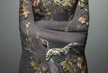 Embellishment... / Embroidery,beads and all the details that create the wonderful array of embellishment we see ....